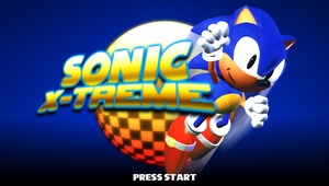 Sonic X-Treme: Title Screen (Version 2) by Mauritaly