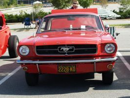 red mustang stock by Irie-Stock