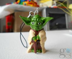 Yoda phone chain by GemDeDude