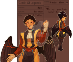 [ AoL ] Castor Vico by yiem