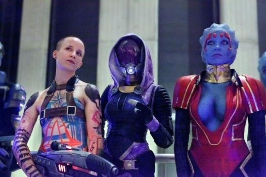 Mass Effect ladies by idleambition