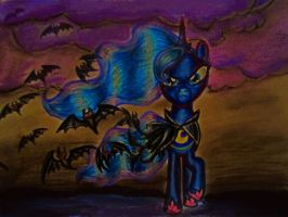 Cloak of Bats by cassiethelobaXD