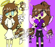 Me + Angel + Fairy = THIS by BEPbody64