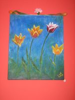 tulipes by ludinterart