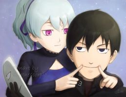 Darker than Black - Smile by lilythescorpio