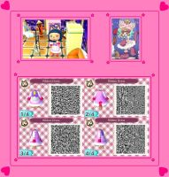 Animal Crossing New Leaf Kiruminzuu QR Code 1 by SuperAngel502