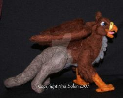 Needle Felted Griffin Gryphon by The-GoblinQueen