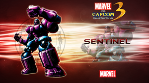 Marvel VS Capcom 3 Sentinel by CrossDominatriX5