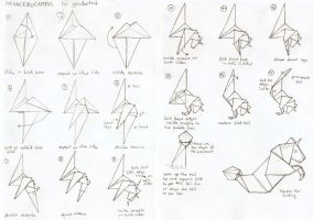 origamiMonocerocampus diagrams by gescheitert