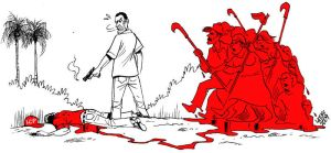 Brazil rural activists killed by Latuff2