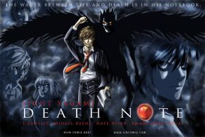 Death Note v. Constantine by sincomix