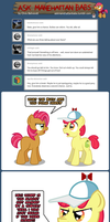 Ask Manehattan Babs #47 by wildtiel