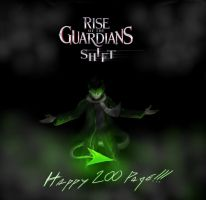 ROTG: Shift fan art: Happy 200 page to LivingAlive by lightbluesskrill