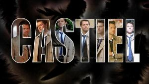 Castiel Wallpaper by RainDragonX