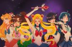 Sailor scouts by Watertae