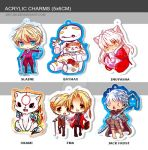 Acrylic Charms 5 by 6cm by jinyjin