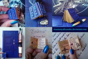 Miniature River Song's diary by AnastasiyaKosenko