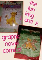 Lion King 1 and 2 Graphic Novel Comics! by Daniellee14