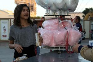 Me With Cotton Candy by Bella--and--Zendaya