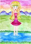 Rosalie on the Pond by xX-Bunny-Shmexi-Xx
