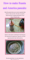 (Cuisine) How to made Russia and America Pancake. by Hyperkaoru13