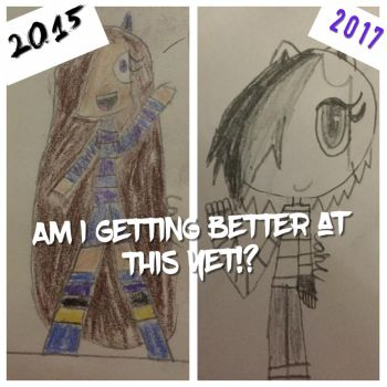 I've come a long way by CakeTheCat75