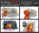 4 Things Can't stand meme - Redkite by Sidian07