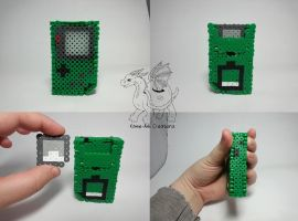Green Gameboy Pocket by Kame-ami