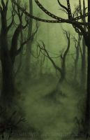 Chain Forest by melissamyth