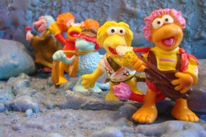 Schleich Fraggle Five by WozzaFraggle