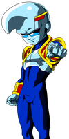 Dragon Ball GT =Baby= Teen by Krizeii