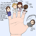 House MD: Finger Puppet Sequel by AquaticFishy