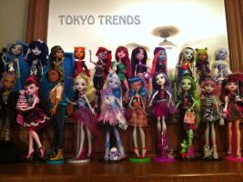 more of my Monster High dolls by Tokyo-Trends