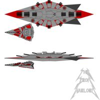 Furious Class Battleship by The-Iron-Warlord
