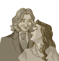 rumbelle sketch by rumpelstiltskinned