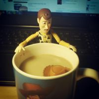 Uh-oh Woody kinda got his hat wet... by Hassanlovestoystory