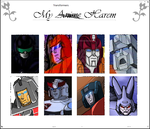 My Transformers Harem by ChibiProwl