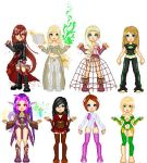 . doll compilation . by Kingdom-Cross