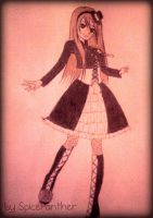 Gothic Lolita ~Black Butler Fanfic - Rosalie~ by SpicePanther