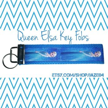 Queen Elsa Key Fobs by cha0tyk-harm0nye