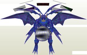 Dmo Lucemon Satan Mode by PapercraftKing