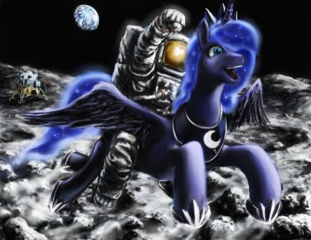 One Giant Leap for Friendship by Balthasar999