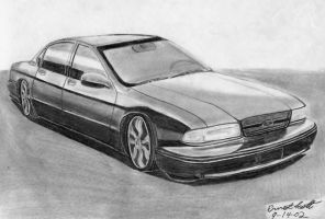 '96 Chevy Impala SS by ImfamousE