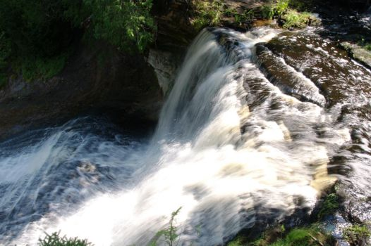 Laughing Whitefish Falls II by Timm45