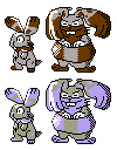 Bunnelby Diggersby GSC Sprites by Axel-Comics