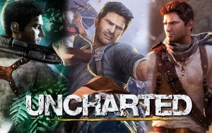 Uncharted Trilogy - Wallpaper by Link-LeoB