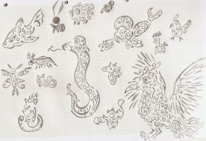 Tribal our animals by Sulfura