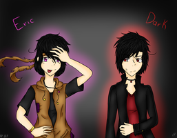 OC's - Eric and Dark by Josy-Chan830