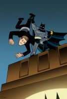 The Dark Knight Strikes Frank Miller Back by dryponder