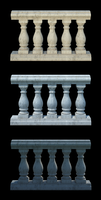 Balustrade Set preview by AlexanderHuebner